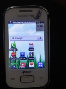 Дисплей Samsung S5302 новый S5300 Galaxy Pocket