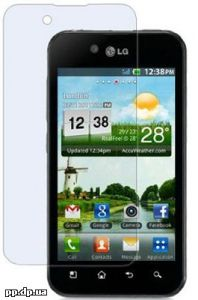 cкрин протектор LG Optimus Black P970 пленка